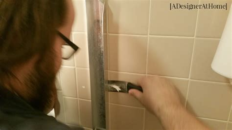 How To Remove Glass Shower Doors Removing Sliding Doors From A Shower A Designer At Home