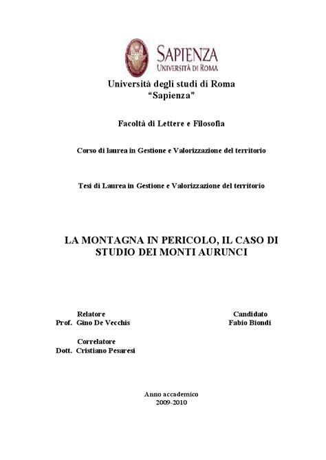 universit 224 degli studi di roma sapienza facolt 224 di
