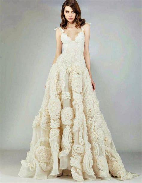 imagenes de vestidos de novia bordados 50 fotos con vestidos de novia diferentes primavera verano