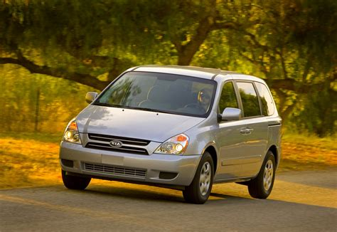 Kia Sedona Specifications 2007 Kia Sedona Technical Specifications And Data Engine