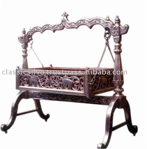 swing for babies in india carved silver baby swing cradle bed silver furniture from