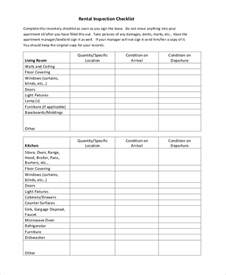 Plumbing Inspector Cover Letter by Sle Home Inspection Checklist Home Safety Inspection Form Exle Sle Home Inspection