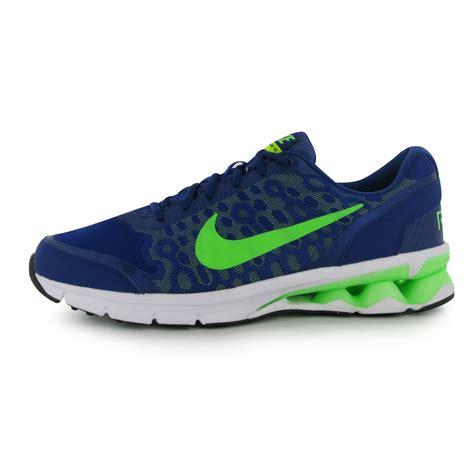 nike reax running shoes nike reax run 10 running shoes mens royal green fitness