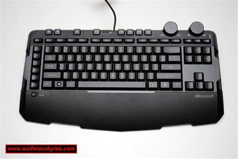 Microsoft Sidewinder X6 microsoft sidewinder x6 gaming keyboard