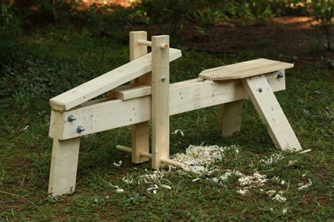 shaving bench download shaving horse plans plans free