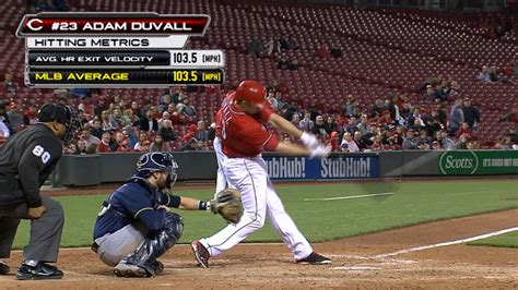 swinging in derby adam duvall thrilled swing in home run derby mlb com