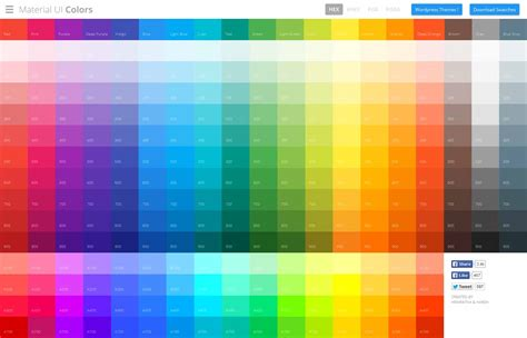 matrial color grid calculator resourcevault