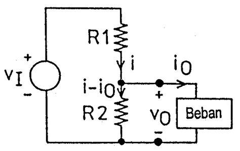 resistor sebagai pembagi tegangan resistor pembagi tegangan 28 images elektronika dan instrumentasi rangkaian pembagi tegangan