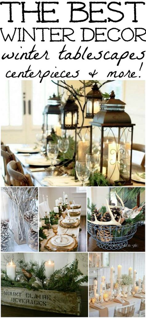 decorating ideas for after christmas winter decorations winter table ideas more how to decorate decor and winter