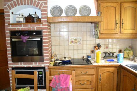 cuisine au chagne cuisine rustique relook 233 e par ambiance patine pour un