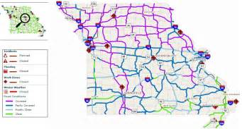 modot road conditions daily postal