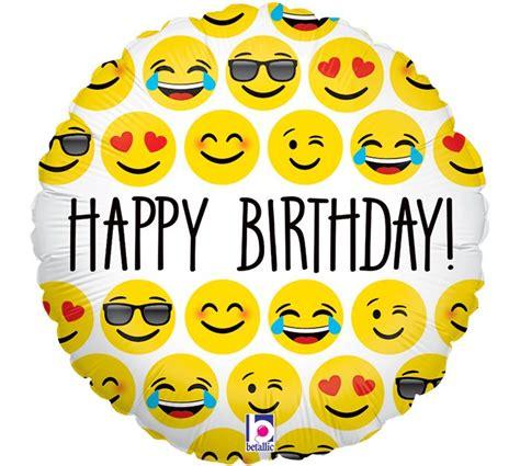 emoji birthday say happy birthday with emoji characters burtonandburton