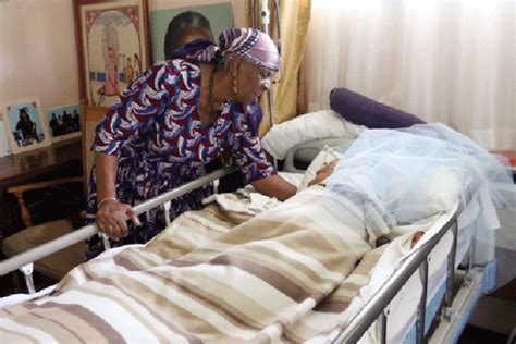 bed written joseph msika s widow bedridden in neglect bulawayo24 news