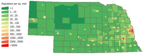 nebraska population nebraska population density map arkansas map