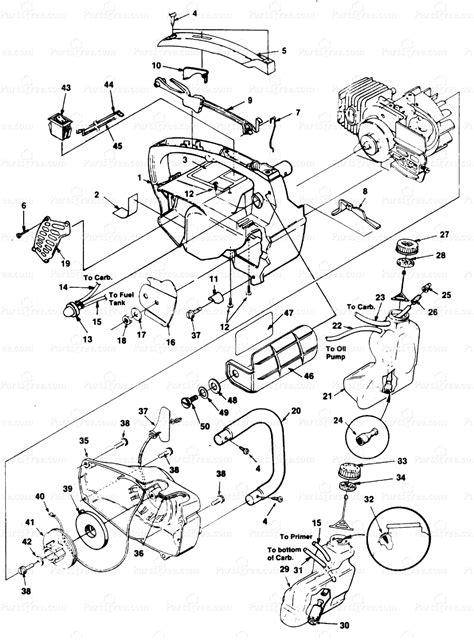 homelite 2 parts diagram homelite ut 10696 homelite 2 chainsaw housing