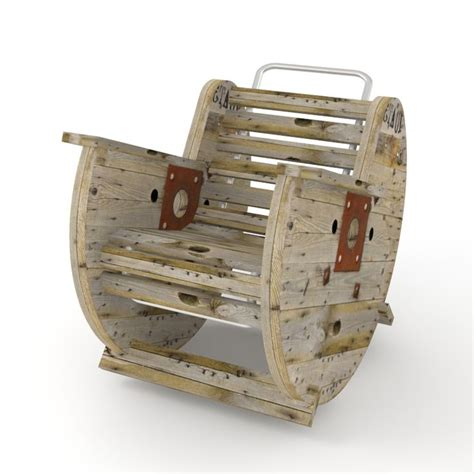 Cable Reel Rocking Chair pin by tiffani reeves on school craft ideas