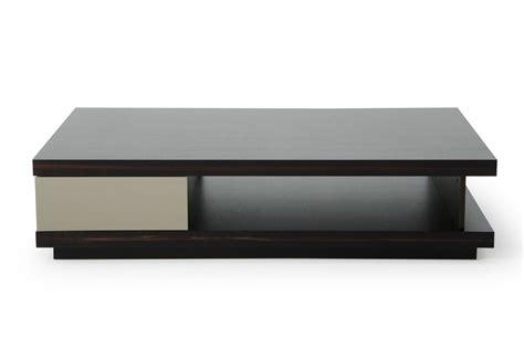 a x caligari modern oak grey gloss coffee table