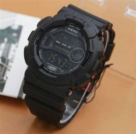 Digitec Digital Black Original jam tangan digitec dg 2049 digital original