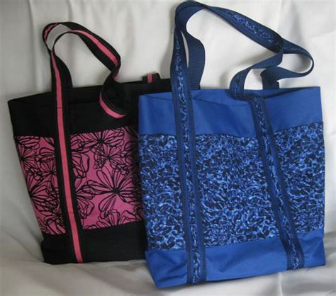 tote bag pattern with outside pockets how to make a tote bag with pockets
