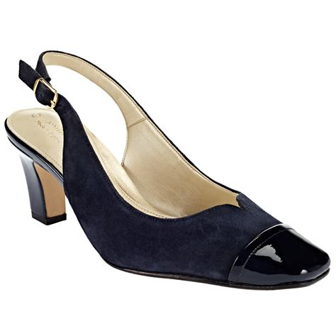 lewis shoes lewis coleford wide fit court shoes in blue lyst