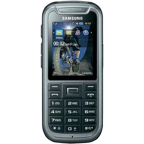 Handphone Samsung Outdoor samsung c3350 outdoor handy ip67 zertifizierung bis zu 1 000 std standby stahl grau im