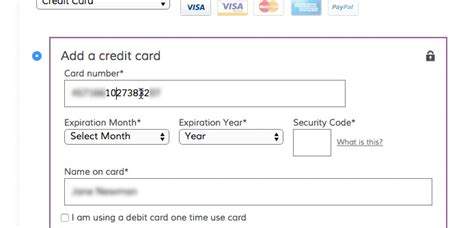 Credit Card Type Format The Credit Card Number Field Must Allow And Auto Format Spaces 80 Don T Articles