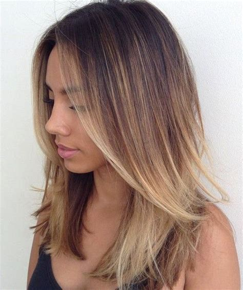 medium length hair with ombre highlights the 25 best ideas about ombre on pinterest ombre hair
