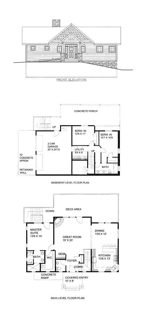 hillside floor plans 49 best hillside home plans images on house floor plans floor plans and hillside house