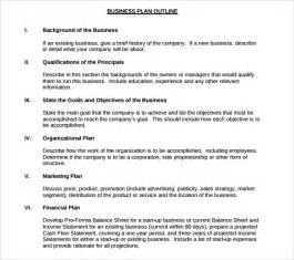 Sole Proprietorship Business Plan Template by Sle Small Business Plan 9 Documents In Pdf Word