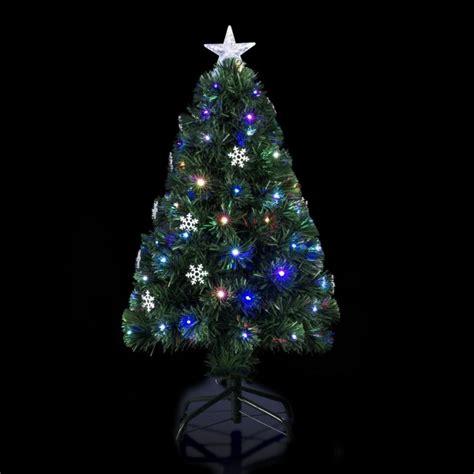 albero illuminato albero di natale artificiale pre illuminato fiocco di neve
