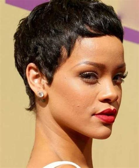 will rhianna pixie work with oblong faces 15 best rihanna pixie haircuts short hairstyles