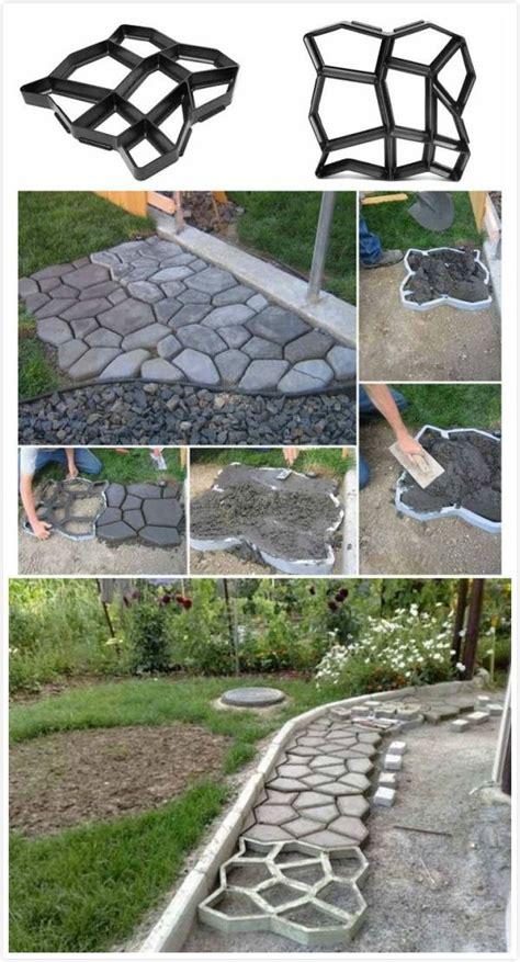zement gehweg ideen garden paving concrete mold garden by saundra garten