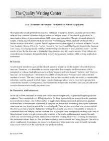 Statement of purpose graduate school sample education
