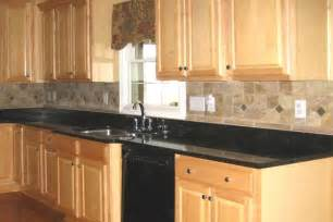 Kitchen Countertops And Backsplash Pictures by Granite Countertops With Tile Backsplash Granite