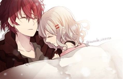 anime couple in bed anime couples diabolik and diabolik on