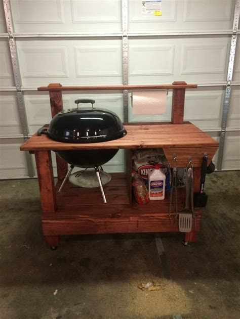 weber grill table plans weber grill table diy