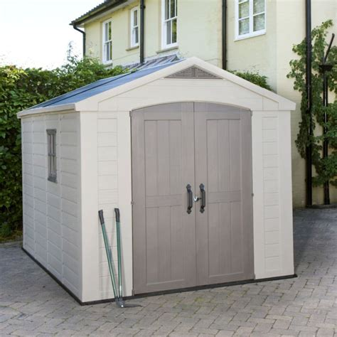 B Q Plastic Sheds by Free Access Plastic Garden Storage Sheds B Q Delcie