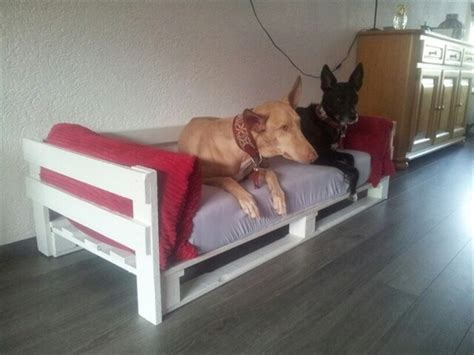 dog bed made out of pallets dog bed out of recycled wooden pallets 101 pallets