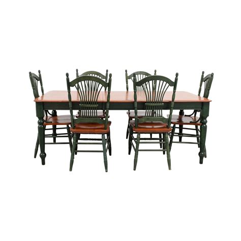 dining with leaf extension dining sets used dining sets for sale
