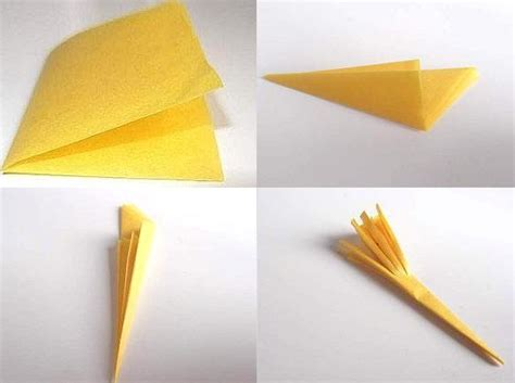 How Did Make Paper - make tissue paper flowers