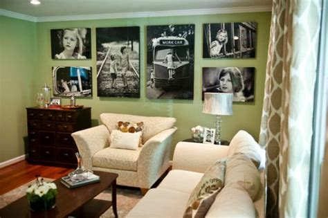 living room displays nunok s blog 25 stylish ways of displaying your family photos