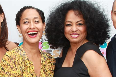 tracee ellis ross the chew diana ross daughter tracee out for laughs on black ish
