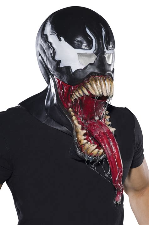 venom deluxe adult latex mask purecostumescom