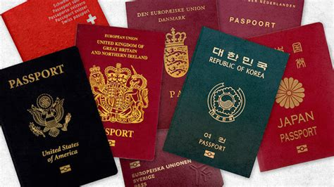 passport colors did you that passport colors a meaning find