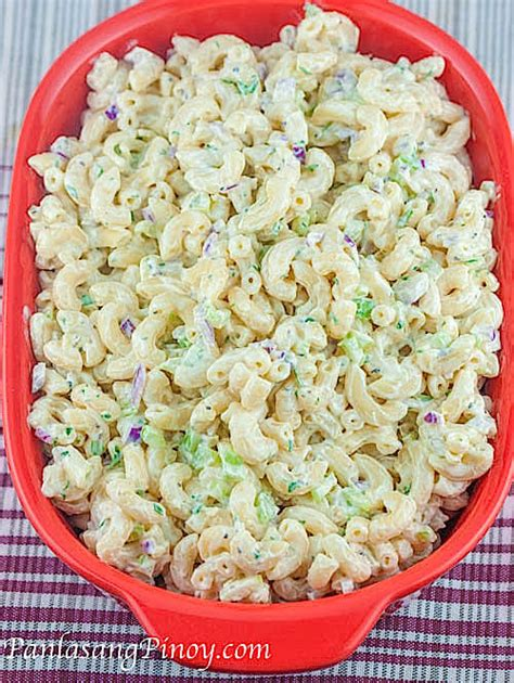 pasta salad recipes easy easy macaroni salad gutom na