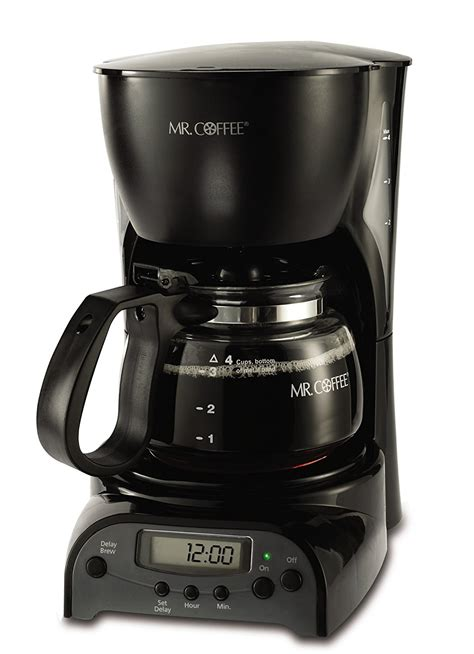 Set Mekar mr coffee drx5 4 cup programmable coffeemaker coffee maker