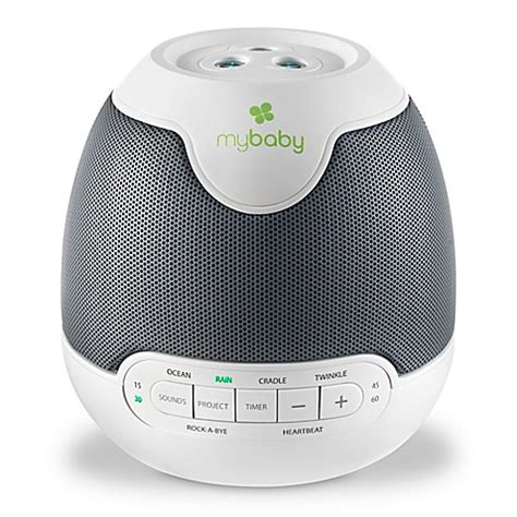 bathroom noise machine homedics 174 mybaby lullaby soundspa with image projection in