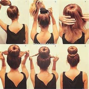 different styles or ways to fix human hair how to make a sock bun 20 different styles