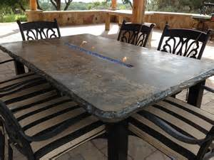 Patio Table With Bench Outdoor Tables Concrete Outdoor Benches And Tables Concrete Patio Table Interior