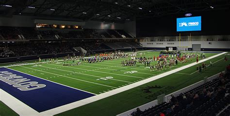 the ford center fisd prepares for football at the ford center